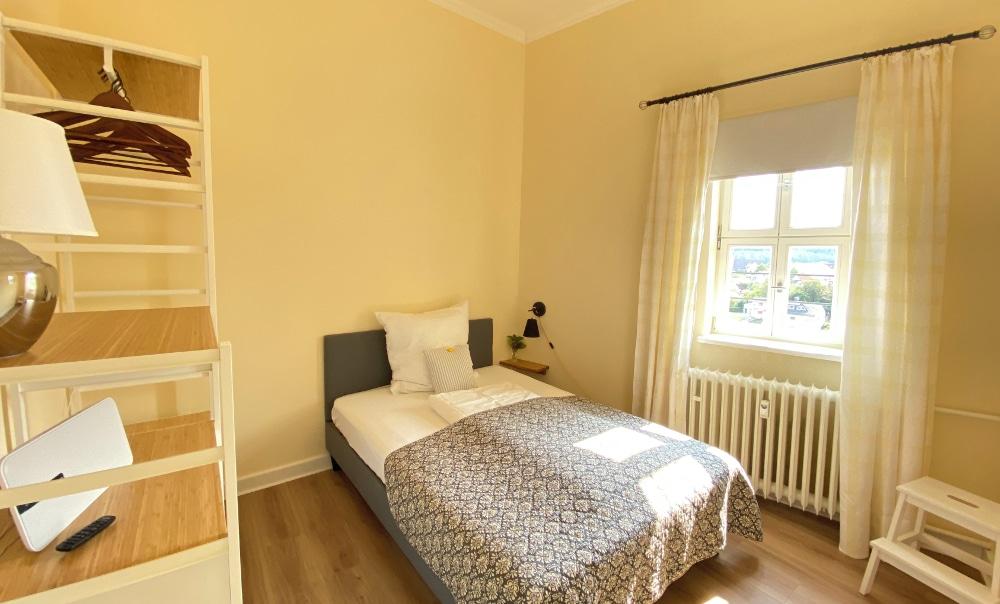 Ferienappartement Gräfin Amalia - Schlafzimmer klein