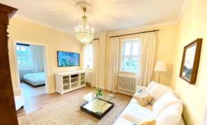 Komfortable Ferienwohnungen in Schlitz: Das Appartement Gräfin Amalia für 1-3 Personen