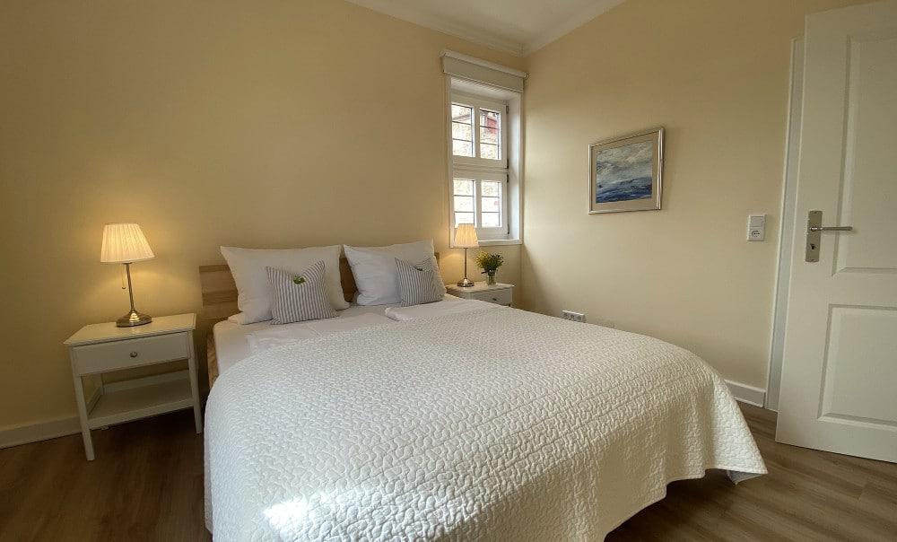Ferienappartement Gräfin Amalia - Schlafzimmer groß